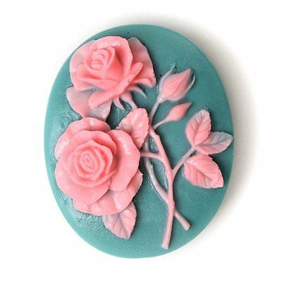 Rose Flower Silicone Soap Mold Homemade Craft Art Valentine's soap DIY Mould