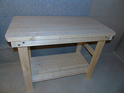 Handmade Wooden Workbench- 2Ft, 3Ft, 4Ft and 5Ft