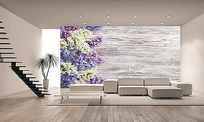 Flowers Bouquet Wall Mural Photo Wallpaper GIANT DECOR Paper Poster Free Paste