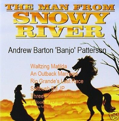 "CD- Banjo Patterson ""Man from Snowy River"" - eBooks (Resell Rights)"