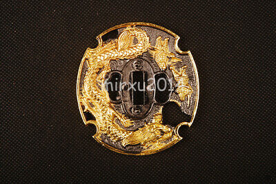 Dragon Quest Alloy Tsuba Handguard for Japanese Samurai Katana Sword 016