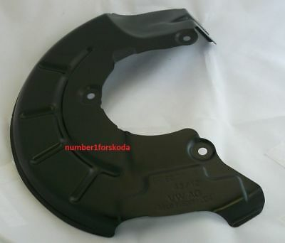 Genuine Audi O/s/f Right Front Brake Disc Back Plate 6R0615312A