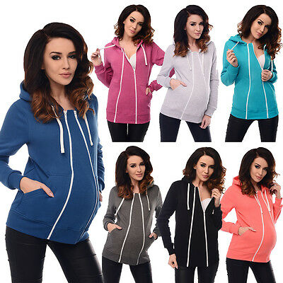 Purpless Maternity, Pregnancy and Nursing Hoodie Top with Removable Insert 9053