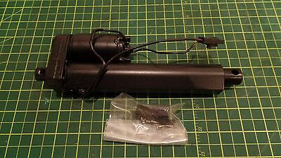 "Thomson Linear Motion Electric Actuator S12-17A8-04 12Vdc, 4"" Stroke 75# Load"