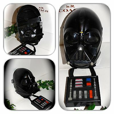 Darth Vader Star Wars Voice Changing Microphone Hasbro Talking Mask!