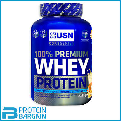 USN Premium 100% Whey Protein 2.2kg - Various Flavours! ***SPECIAL PRICE***
