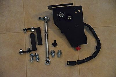 1970 mercury cougar electric headlight motor conversion kit w/custom alum arm