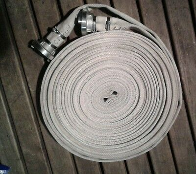 Fire hose 38mm x 30m NEW with storz fittings