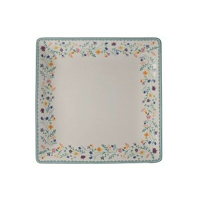 Maxwell & Williams Wildflowers Square Platter 30cm Gift Boxed Brand New