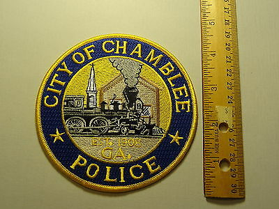 City of Chamblee Georgia Police Patch - New