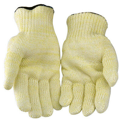Kitchen Pair Of Heat Resistan Oven Gloves Flame Proof BBQ Non-slip Grip