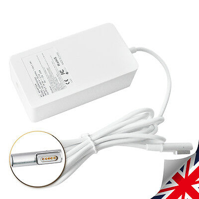"Adapter Charger for Apple 45W 14.5V 3.1A Macbook Air 11"" 13"" MagSafe1 A1304 UK"