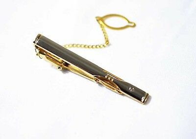 New Men Silver GOLD Classical STAINLESS STEEL Wedding Tie Clip Pin Bar Party