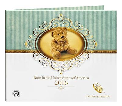 2016 S US MINT BIRTH SET (16RD) BIRTHDAY GIFT 5 COIN PROOF SET Official Issue