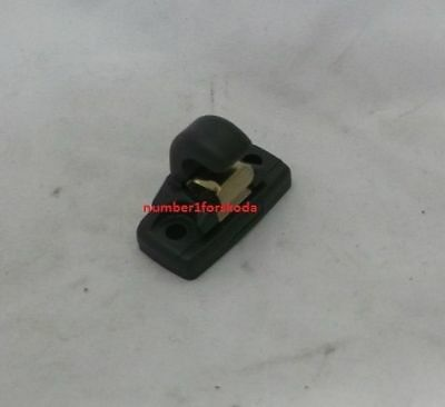 Genuine Skoda Sun Visor Clip Hook In Onyx Black 3B0857561B47H