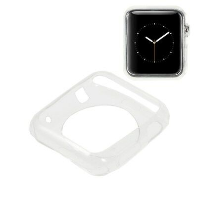 Apple Watch 42mm TPU Case Protective Schutz Hülle Cover Bumper Etui Transparent