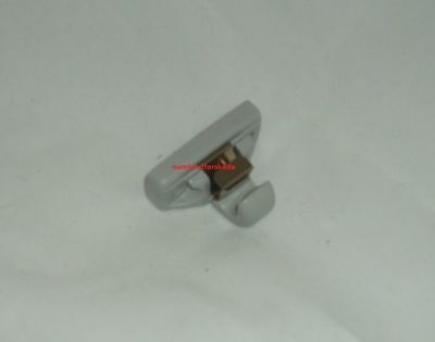 Genuine Skoda Sun Visor Clip Hook In Pearl Grey 3B0857561By20