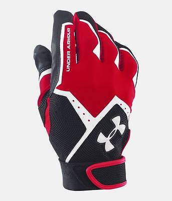 Under Armour UA Boys Clean-Up VI Baseball Softball Batting Gloves - Youth