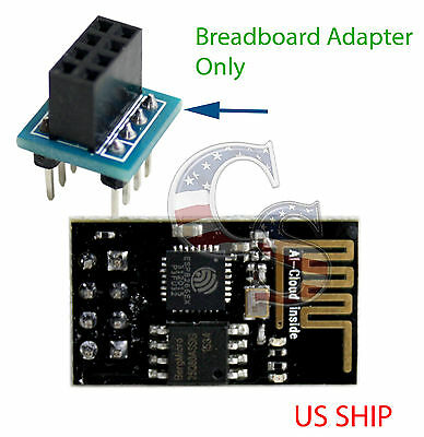 Breadboad Adapter For ESP8266 Serial WIFI Wireless Transceiver Module LWIP AP