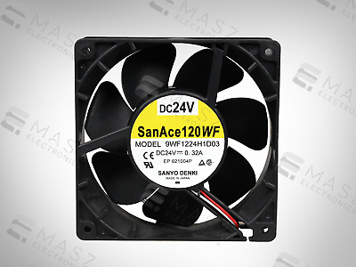 New 9Wf1224H1D03 Sanyo Denki Fan San Ace 120  Original