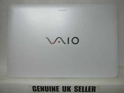 WHITE Sony VAIO SVF152 LCD Screen Lid Back Rear Cover 3FHK9LHN040 EAHK9003020