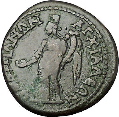SEPTIMIUS SEVERUS 193AD Anchialus Thrace TYCHE Genuine Ancient Roman Coin i50933