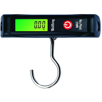 50Kg/10g Digital LCD Electronic Luggage Baggage Weight Hanging Scale With Hook
