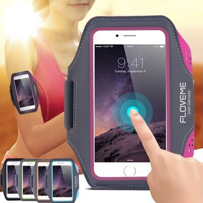 Gym Running Jogging Sports Armband Exercise Holder Case Cover For iPhone&Samsung