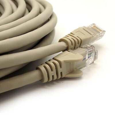 RJ45 Cat6 Ethernet Network LAN Cable Snagless UTP Patch Lead 10gbps 1m - 50m Lot