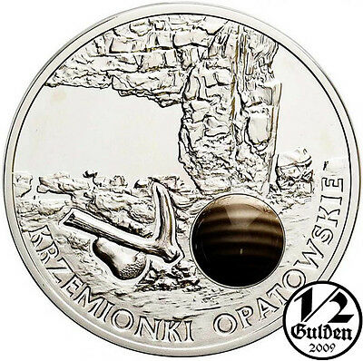 POLAND 20 Zlotych 2012 Krzemionki Opatowskie Silver Proof Coin Polish Mint