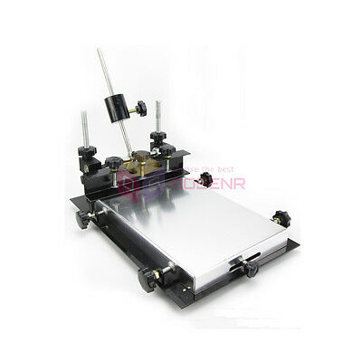 Manual Solder Paste Printer,PCB SMT Stencil Printer S Size 300x210mm