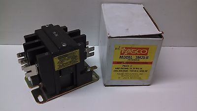 NEW OLD STOCK FASCO 2 POLE MAGNETIC CONTACTOR 2S25-B 30C020-5B 2S25B 25//35A