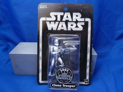 16.022 Star Wars SILVER ANNIVERSARY 2003 CLONE TROOPER TOYS´R´US EXCLUSIVE MOC