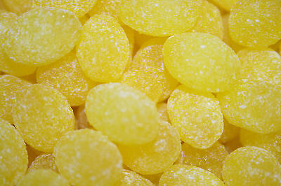 Sanded Lemon Drops Old Fashioned Hard Candy 5 pounds - FREE SHIPPING