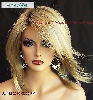 Jackson Noriko Wig Blond Medium Length *stunning Seductive  *creamy Toffee R 518