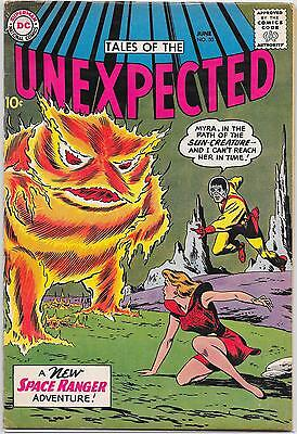 Tales of the Unexpected #50 DC 1960, Space Ranger,Brown, Anderson, Roussos VG/FN