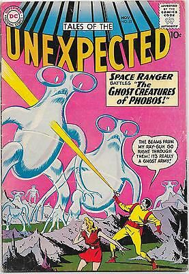 Tales of the Unexpected #55 DC 1960, Space Ranger, Brown, Cardy, Purcell VG+