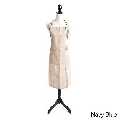 Striped Design Full Length Apron, 2 colors