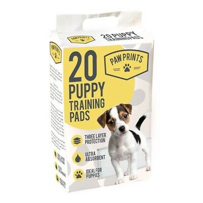 LARGE DOG PUPPY HOUSE ABSORBENT TRAINING TRAINER PADS MAT TOILET WEE 60cm X 40cm