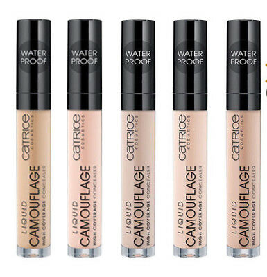 High Coverage Liquid Camouflage waterproof Concealer Catrice longlasting thebest