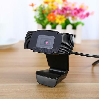USB 12MP 1080P HD 30 fps Pro Webcam Camera Video with Built-in Mic for PC Skype