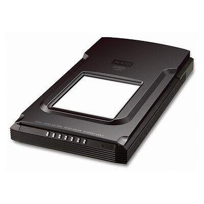 Microtek ScanMaker S480 flatbed scanner with transparency unit 4800 x 9600 dpi