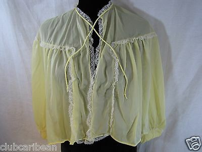 Vintage Rogers Run Proof women nylon tricot teddy top vest  size S NEW w/o tag