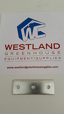 """Connector Plate 1 1/2"""" x 4 1/2"""" ( 3 Hole) - Quantity of 10"""