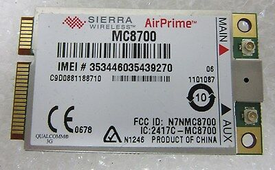 Sierra AirPrime MC8700 WWAN Adapter for Panasonic Toughbook CF19MK4