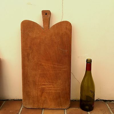 Antique Vintage French Bread Or Chopping Cutting Board  Wood 226