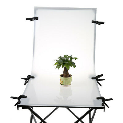 NEW 60x130cm Shooting Table Foldable Photo for Still Life Product Photography