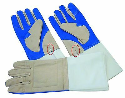 Fencingdeals 10 X 3 weapon washable all sizes &sides gloves old type cable hole