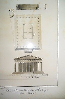 WC Pompeii C1999 Ltd Edition Engraving Litho