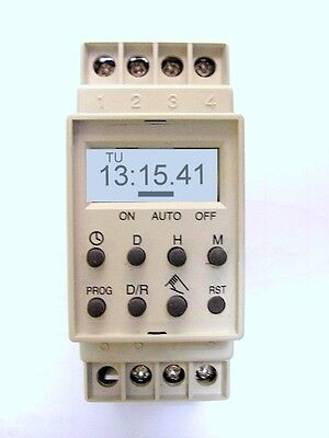 Timing Clock PET 010  PROGRAMMABLE TIMER with battery back-up